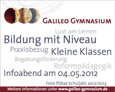 Galileo Gymnasium Berlin Gymnasien